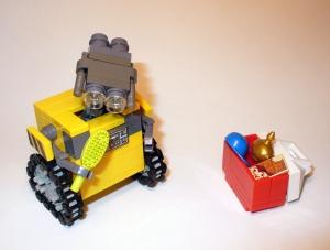Wall-e at work